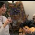 2010年12月11日(土)放映「鵠沼海岸アプラグド」ボーカルの貝田彩さんとギタリストの佐藤右皐さんのデュオによる大人のジャズ・ナイト。